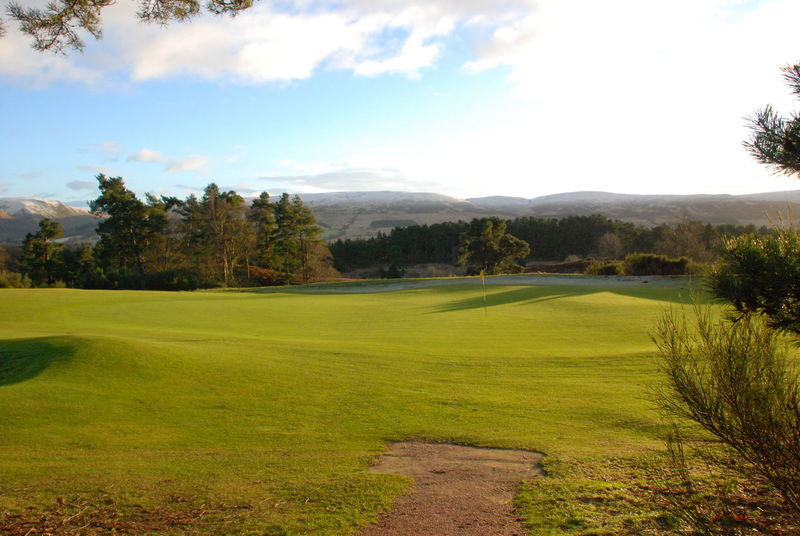 Gleneagles Golf Course Perthshire, Scotland Beauty In Nature Day Field Golf Golf Course Grass Green - Golf Course Green Color Growth Landscape Nature No People Outdoors Putting Green Putting Green View Scenics Sky Tranquil Scene Tranquility Tree