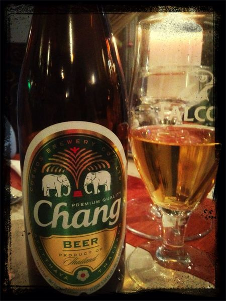 Chang Beer Boyfriend❤ Diner♥