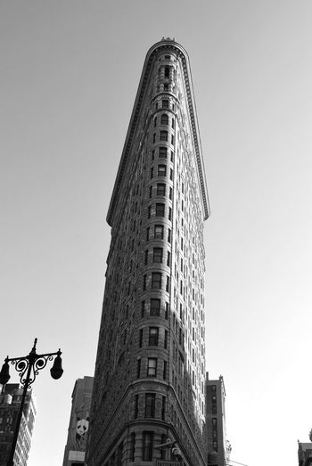 New York City Landmark Architecture Building Building Exterior Built Structure City Clear Sky Day Low Angle View Nature No People Office Office Building Exterior Outdoors Sky Skyscraper Spire  Tall - High Tourism Tower Travel Travel Destinations My Best Travel Photo