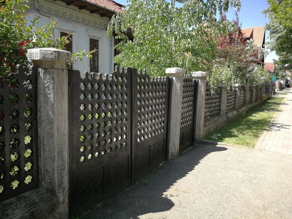 Tree Protection Gate Security Fence