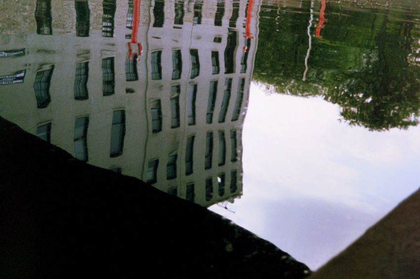 Reflection Outdoors Day Water Built Structure Nature No People Architecture Building Exterior Sky Puddle Close-up