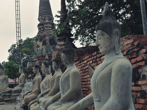 Religion Statue Spirituality Travel Destinations History Sculpture Outdoors Meditaion Peace Buddha Statues Buddha Thailand Thailand🇹🇭 Temple Sacred No People Place Of Worship Spirituality Statue Buddhas Buddha Statue Buddha Statue Thailand BUDDHA !!