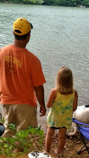 Relaxing Fishing Camping Trip with my favorite girls....Patti Aly Ruby DeDe