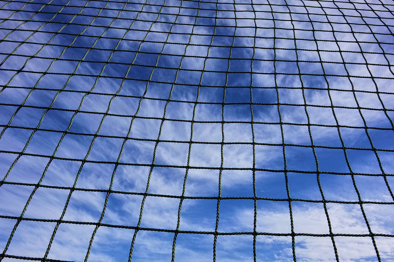 Architecture Backgrounds Beauty In Nature Blue Blue Sky Building Exterior Built Structure City Clear Clouds Clouds And Sky Day Full Frame Low Angle View Nature Net No People Outdoors Pattern Sky Break The Mold