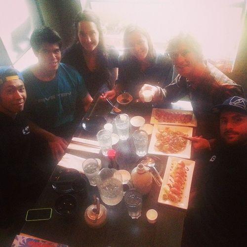 Japanesefood with @maxwellberwin Max Erwin, Og Colabo, @noriyuki_tamura Skateslatejapan @tamaraprader @patrickswitzer Whistlerlbfest Nightoff Thanks for the lovely time!