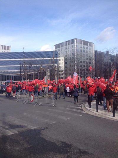 Manifestation du secteur non marchand, Belgique. Manifestation Conflict Social Issues Belgium