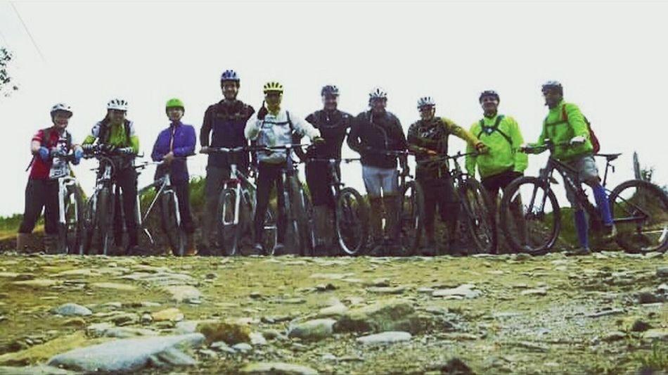 Bikers Bike Ride Roadbike Enjoying Nature Friends Adventure Trocha Relaxing