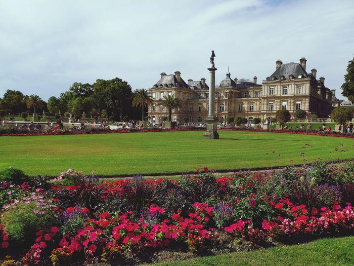 French senate, jardin de luxembourg