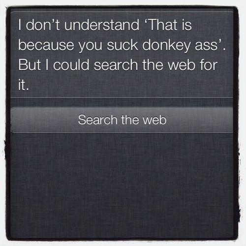 Siri Talking To Siri Siri Fucks Up (Again)