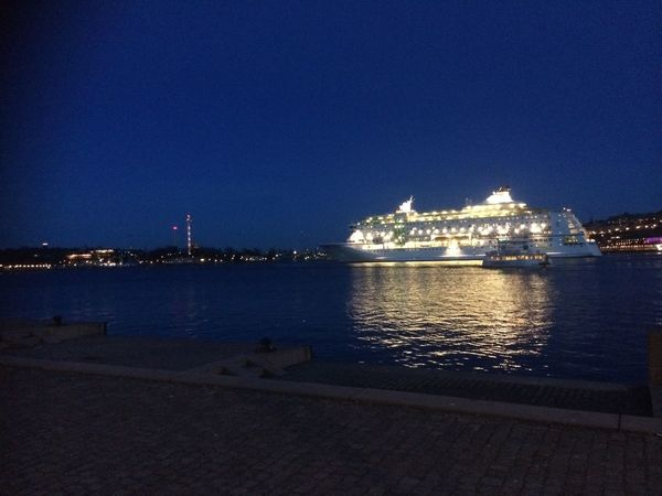 Stockholm I Mitt Hjärta Ship Taking Photos I Miss You