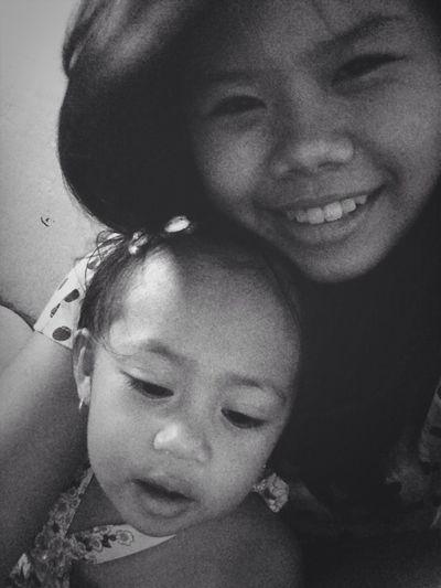 She's so cute! x3 my little cousin :3