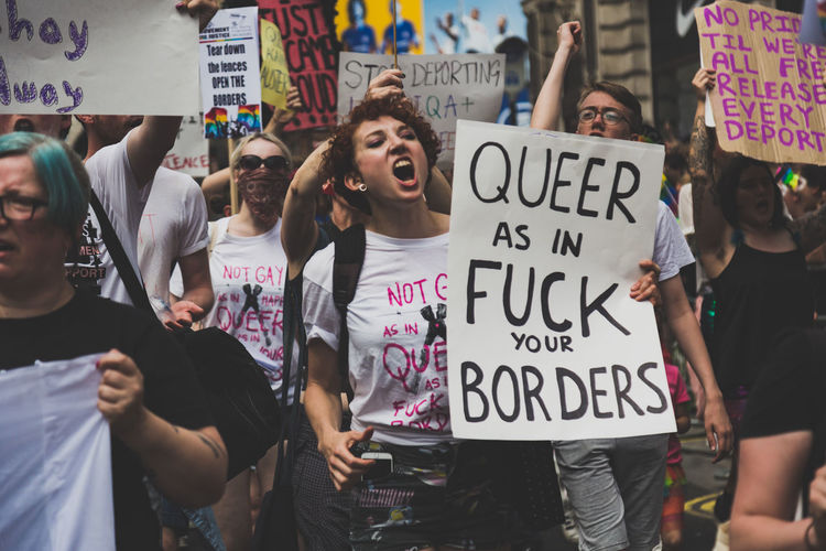 LGBT Pride Parade in London, UK. 2017 LGBT Parade LGBTQ Rights London Press For Progress Protest Sunny Banner - Sign Day Equality Flag Flags Gay Journalism Lgbt Lgbt Pride March Outdoors People Pride Pride2017 Prideparade Protest Protesters Rainbow Social Issues The Troublemakers