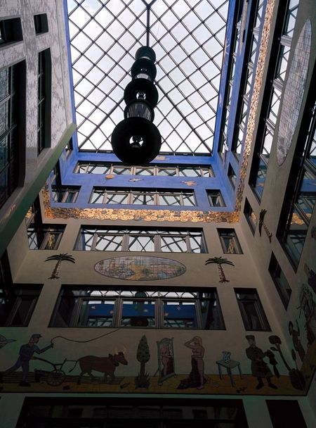 Hello World Modern Architecture Sightseeing At Leipzig