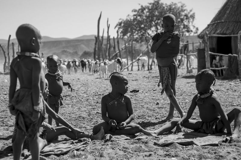 Africa Children Children Of The World Children Photography Children's Portraits Children_collection Himba Namibia Namibian People Village Life Village View