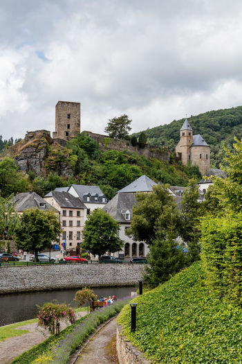 Architecture Castle Day Historic Luxembourg Mountainous Nature Outdoors Ruins Town