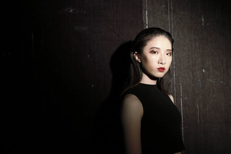 Model Black Hair Model