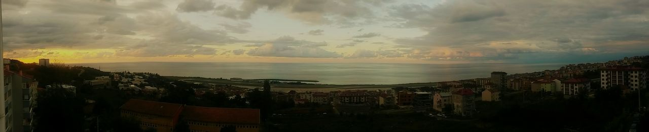 Horizon Over Water Water Built Structure Cloud - Sky Building Exterior Sky High Angle View TOWNSCAPE Scenics Sunset Panoramic Architecture Tranquil Scene Photographic Memory Karadeniz Original Photography Autumn Nature Blue Day Turkey Cloudscape Trabxon Trabzon Ktu