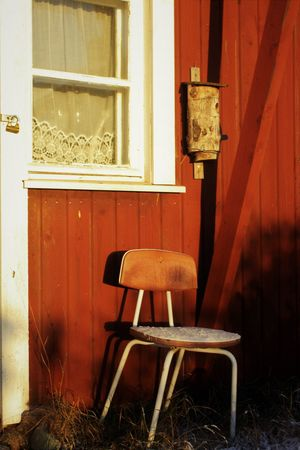Bird House Abandoned Architecture Chair Day Indoors  No People Window Wood - Material
