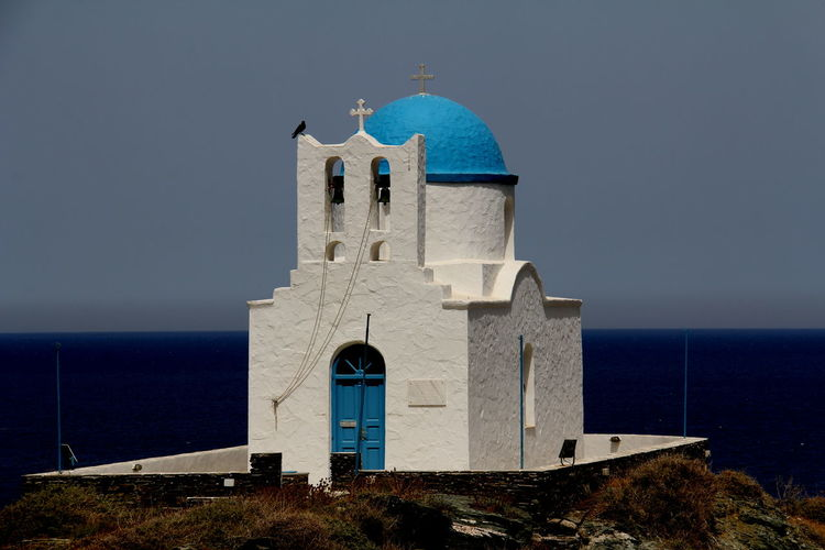Efta Martyres Sifnos, Greece  Architecture Beauty In Nature Building Exterior Built Structure Day Greece Nature No People Outdoors Sea Travel Destinations Water