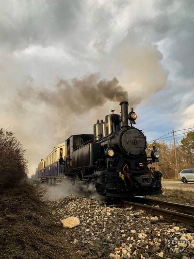 Steam engine at the Hill's of Buda Steam Train Train Sunset Hungary Locomotive Steam Locomotive Steam Steam Engine Train - Vehicle Land Vehicle Railroad Track Steam Train Track Outdoors Public Transportation