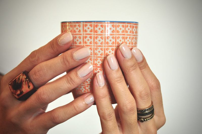 Coffee Cup Hand Holding Home Human Hand Lifestyles Women