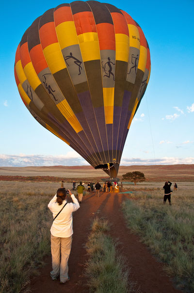 Ballooning over the NamibRand Nature Reserve, Namibia Africa Ballooning Hor-air Ballooning Hot-air Balloon Landscape Namibia Namibrand Nature Reserve Nikon D90