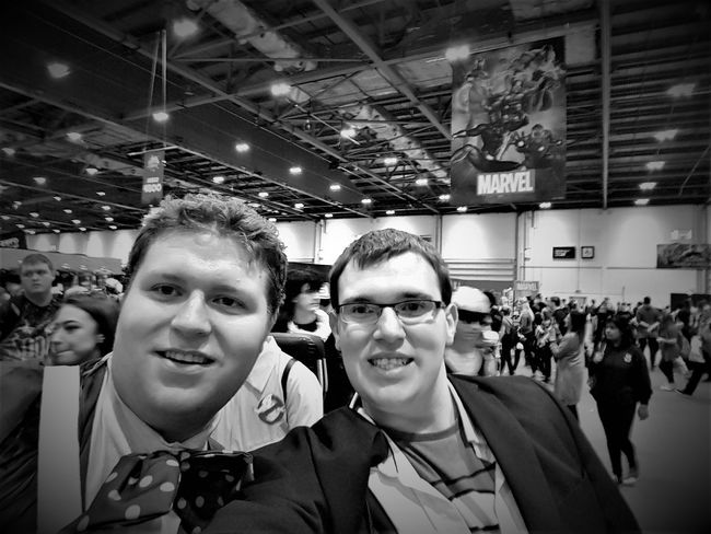 London Comic Con 2017 2017 2017 Year 2017 Photo Black & White Black & White Photography London 2017 Adult Adults Only Black & White Collection Black And White Black And White Collection  Black And White Photography Blackandwhite Cheerful Day Indoors  Large Group Of People Looking At Camera Men People Portrait Real People Smiling Young Adult Young Men