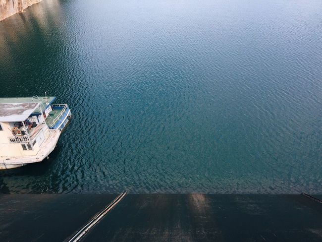 Water Nature Nautical Vessel Transportation Sea Mode Of Transport Boat Beauty In Nature Sailing Day Outdoors No People Thailand Dam The Secret Spaces The Secret Spaces