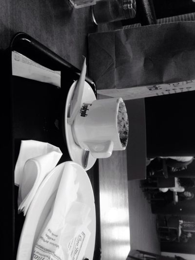 This Is Coffee , Hanging Out Enjoying Life Hi! Cheese! Hello World Black White!