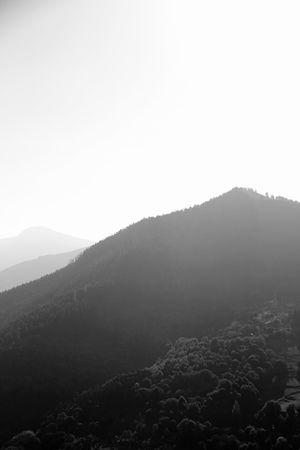 April 2014 Arid Climate Barren Copy Space Desert Extreme Terrain Fog Geology Horizon Over Land Landscape Majestic Mountain Mountain Range Non-urban Scene Physical Geography Remote Tranquil Scene