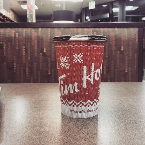 Hotcupofcoffee after a long 10hr shift Breakfast Goodmorning Xmascups