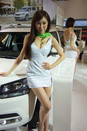 Show Girl Taipei Car Show