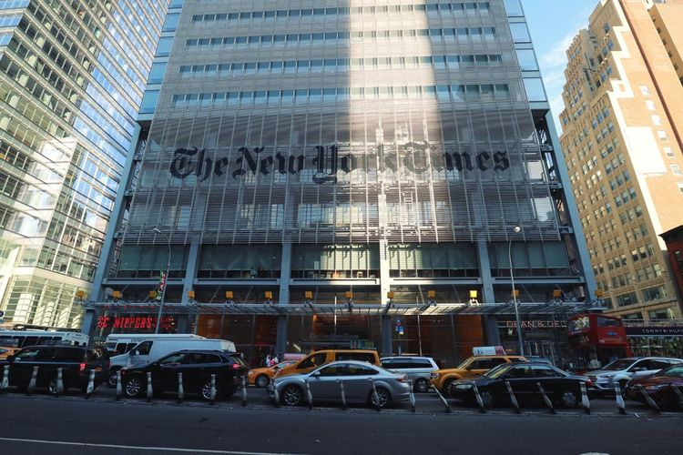 NYC NYC Photography The New York Times Building Street Rush Hour