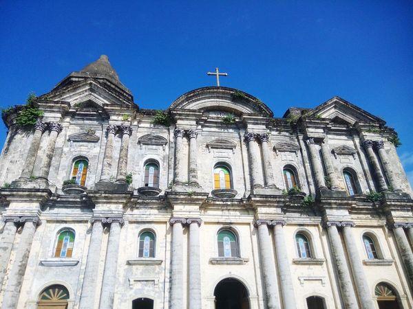 Saint Martin de Tours Basilica, Philippines Batangas Philippines Wowphilippines Built Structure Building Exterior Architecture Low Angle View Building Sky Religion Tourism Place Of Worship History Architecture