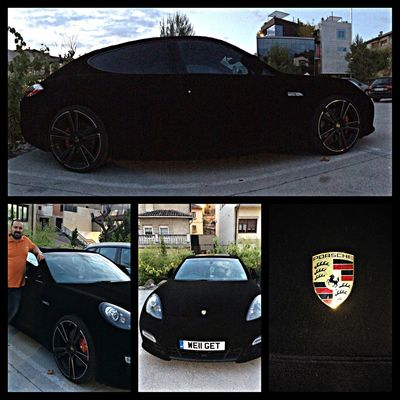 Velvet Porsche Panamera Skin Porsche