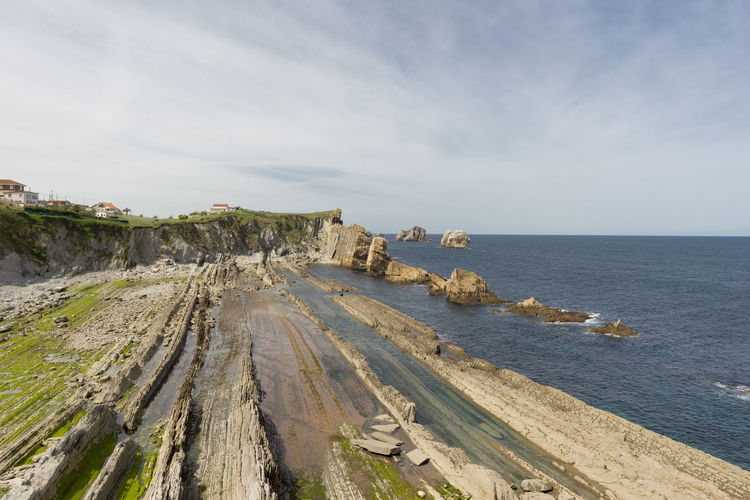 Cantabria Nature SPAIN Arnia Beach Beauty In Nature Day Horizon Over Water Landscape Nature No People Ocean Outdoors Scenics Sea Sky Water