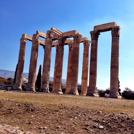 Temple of Zeus... #TBEXathens #TBEX