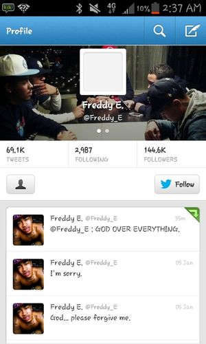 Freddy E Faked His Death