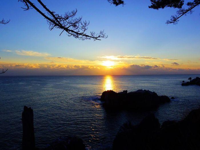 2015.1.1 Sunrise Sea 唐桑半島 巨釜 PENTAX Q