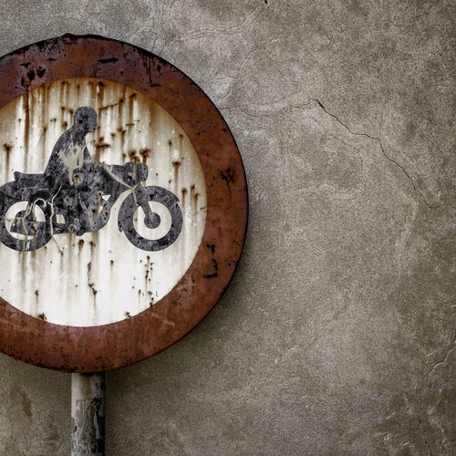 Road sign ban Background Circle Code Concept Copy Space Forbidden GrungeStyle Highway Idea Law Motorbike Motorcycle Motorcycle Photography Obligatory Old Parking Red Road Rough Rusty Sign SignSignEverywhereASign Street Photography Symbol Texture