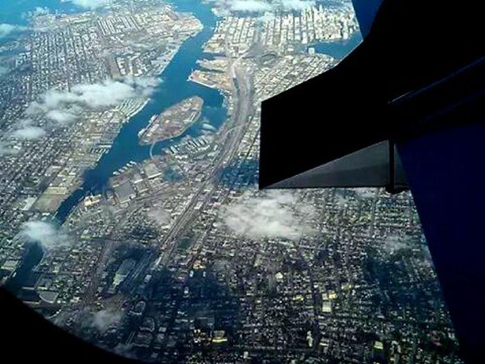 Flying over the world toward Tucson Arizona , 09.13.14