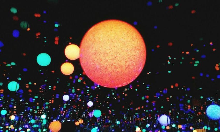 星空 微塵 永遠和永別