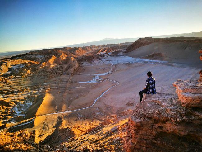 One Person Exploration San Pedro De Atacama Cordillera Valle De La Luna The Great Outdoors - 2017 EyeEm Awards