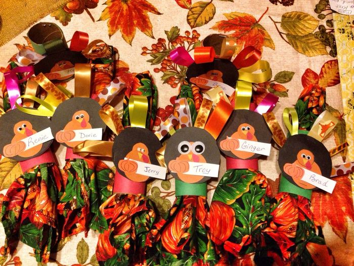 Thanks Giving Napkin Holders! Crafts Look What We Made Happy Sunday