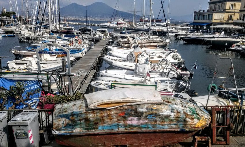 Vesuvio Vulcan Streetphotography EyeEm Best Shots Travel Photography Urbanphotography City Eyeemmasterclass Walking Around The City  The Art Of Street Photography Nautical Vessel Water Mast Sailing Ship Harbor Moored Yacht Sailboat Tall Ship Sea Marina