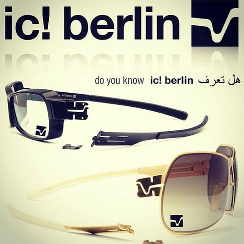 Screwless Eyewear from Icberlin is available at Jamesleonard opticians jlo dont dream it wear it! Call 212.390.0221 for your personal fitting setion.