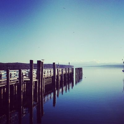 Ammersee Winter2014 Februar Oberbayern Ammersee