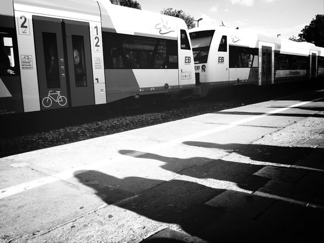 Streetphotography Blackandwhite Jena Train