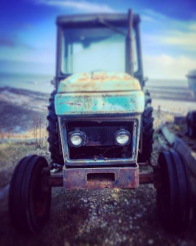 Tractor Rusty Old Abandoned