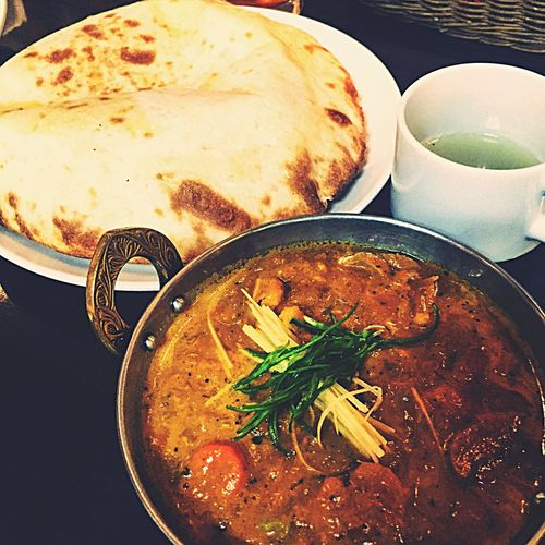 Yummy Eating Curry